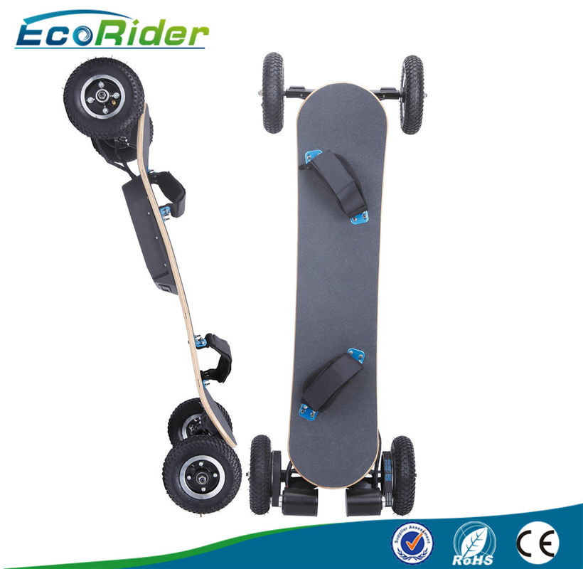 Big Wheels Electric Powered Longboard With Removeable Battery , Max Load 125 KG