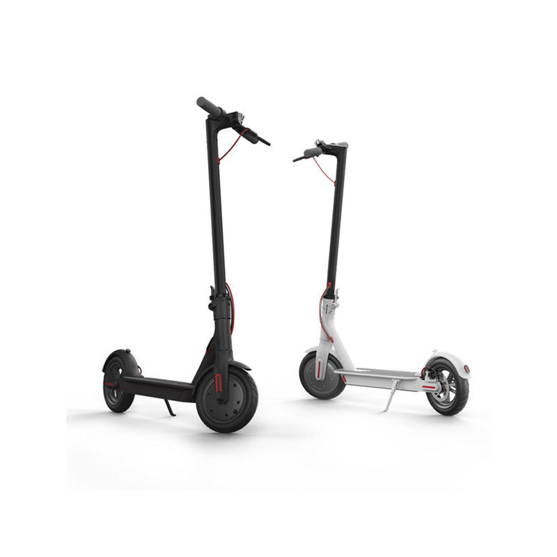 350 Watt Xiaomi Mijia 2 Wheel Electric Scooter , Adult Folding Scooter 36v Lithium Battery